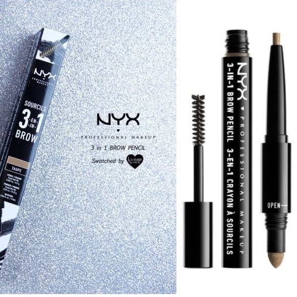 Nyx Makeup New Professional 3in1 Brow Pencil Poshmark